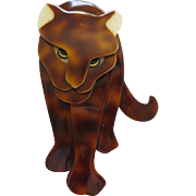 Jag The Jaguar Pin By French Designer Lea Stein