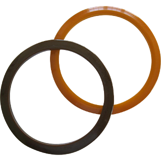Pair Of Bakelite Spacer Bracelets