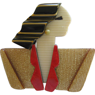 Carmen Or Joan Crawford Pin By French Designer Lea Stein