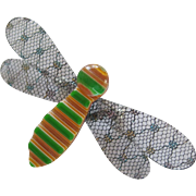 Bumble Bee Pin by French Designer Lea Stein