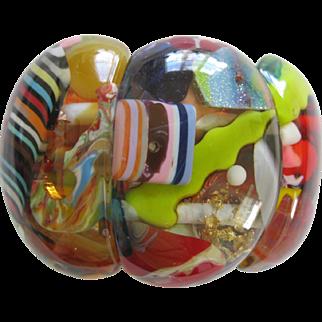 Carlos Sobral Brazil Resin Puleme Stretch Bracelet