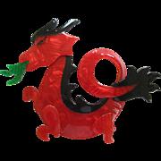 Dragon Pin By French Designer Lea Stein