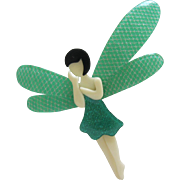 Volage The Fairy Pin By French Designer Lea Stein