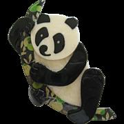 Panda Pin By French Designer Lea Stein