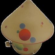 Miniature Bellova Lamp With Circle Motif