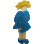 Little Orphan Annie Pin By French Designer Lea Stein