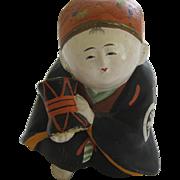 Vintage Japanese Gosho Nino Doll With Drum