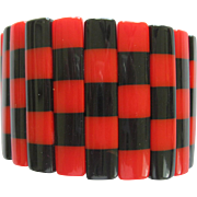 French Designed Resin Stretch Bracelet