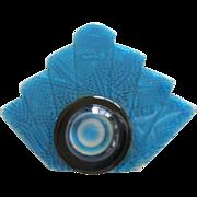 Deco Fan Pin By French Designer Lea Stein