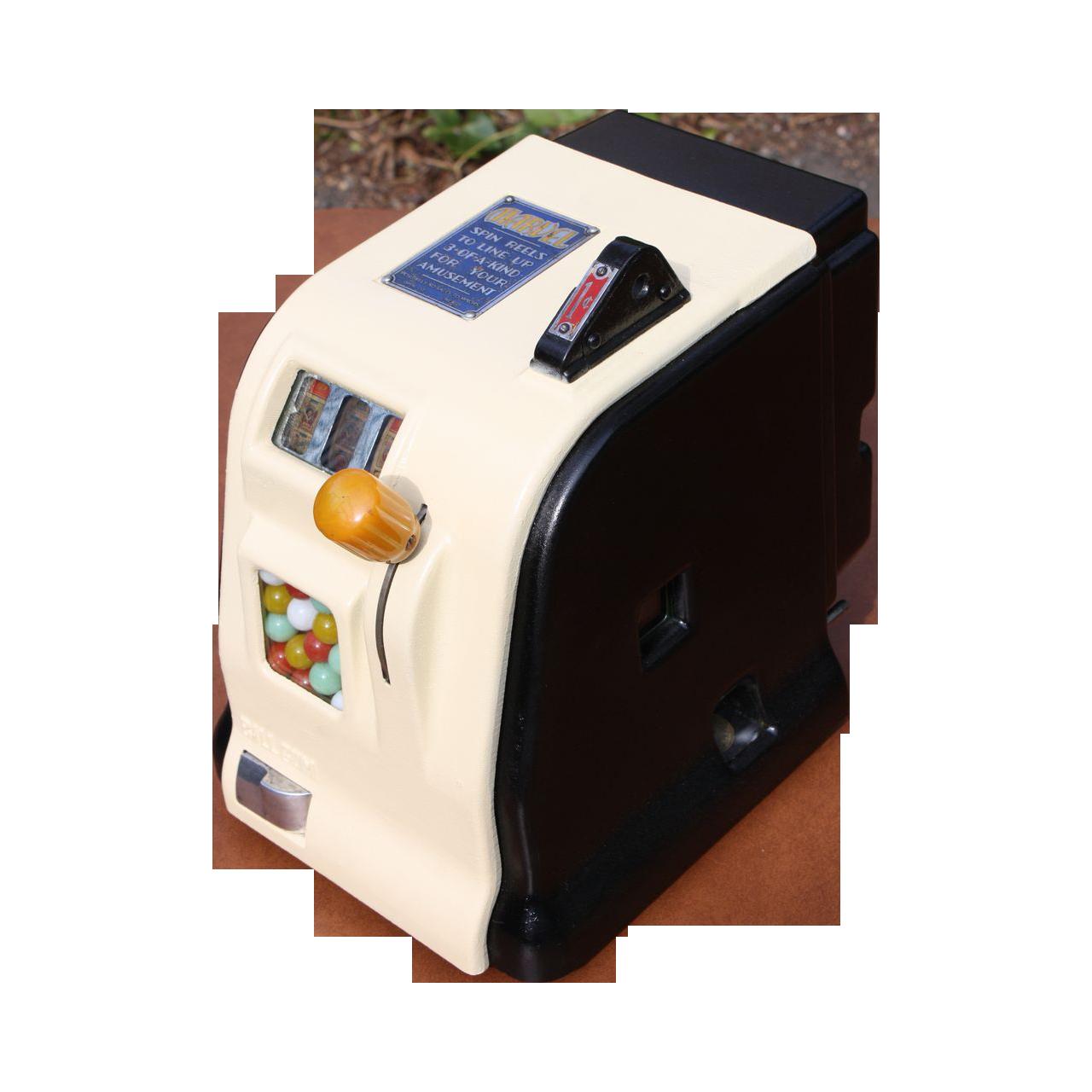 Daval Marvel Slot Machine Stimulator  Gumball Dispenser