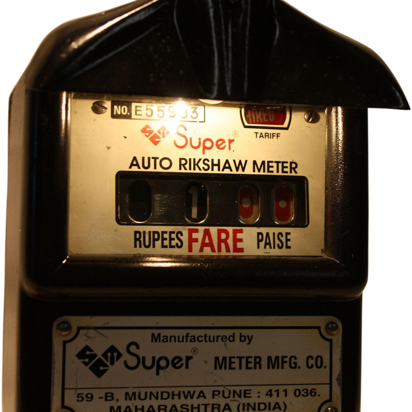 Taxi Meters Purchase : Vintage auto rickshaw taxi meter bombay india fun