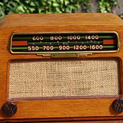 Hoffman Tube Radio Ray and Charles Eames  Design 1940's