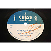 "Muddy Waters 78RPM Chess 1550 ""Mad Love"""