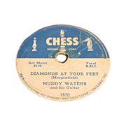 Muddy Waters 78RPM Chess 1630 and 1667