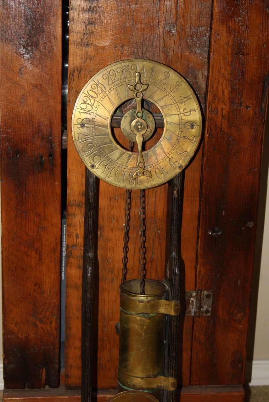 Antique Pearson Page Jewsbury Water Clock 1918 Clepsydra