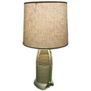 Mitchell Lumitone Rocket Radio Lamp 1940's