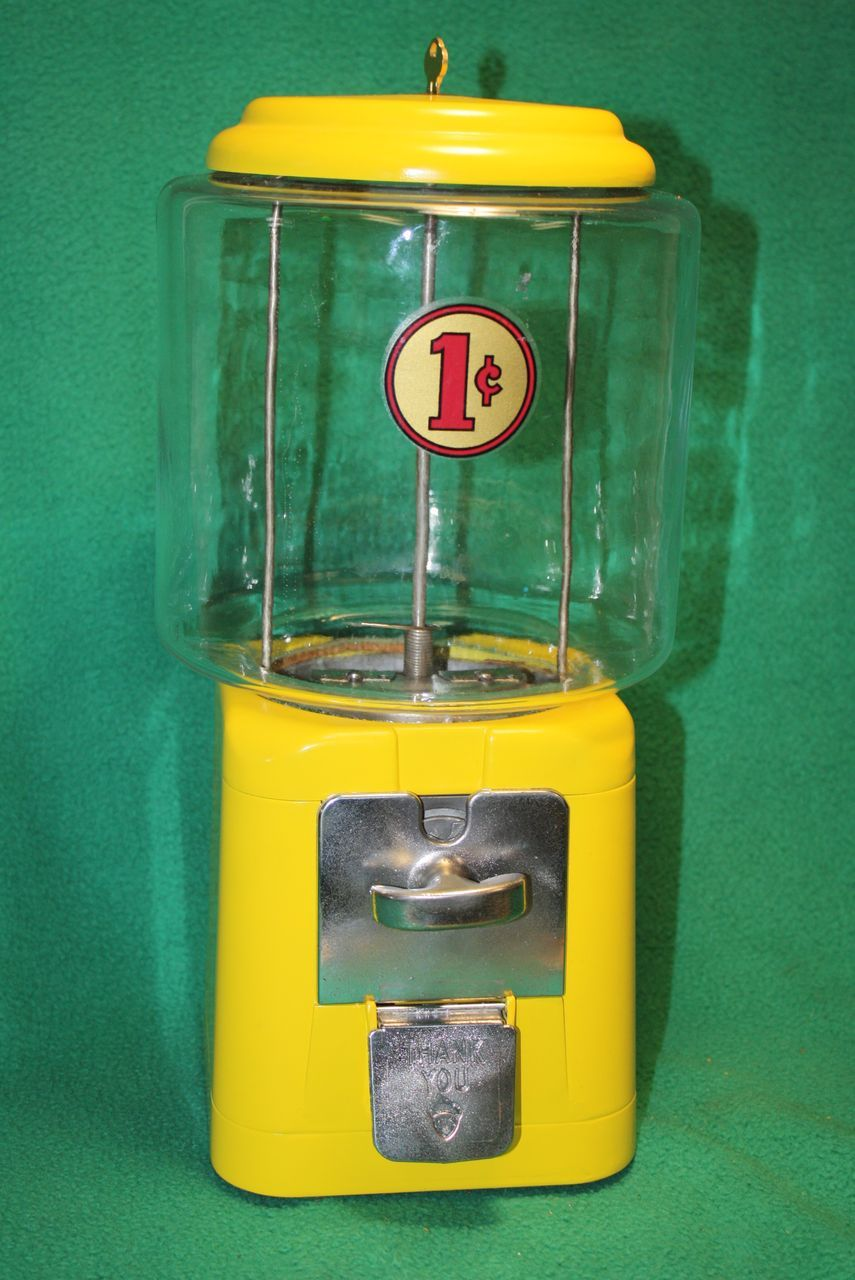 oak gumball machine