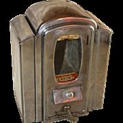 Eldredge Mfg. 1Cent Mint Machine with Napkin Dispenser
