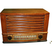 Admiral Super Areoscope AM Continental Radio needs service #6T04-5B1N