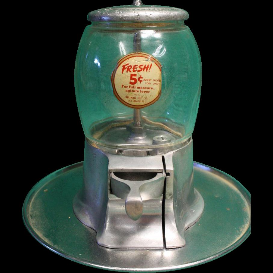 Reliable Nut Co. Nut Vendor 1934 Original
