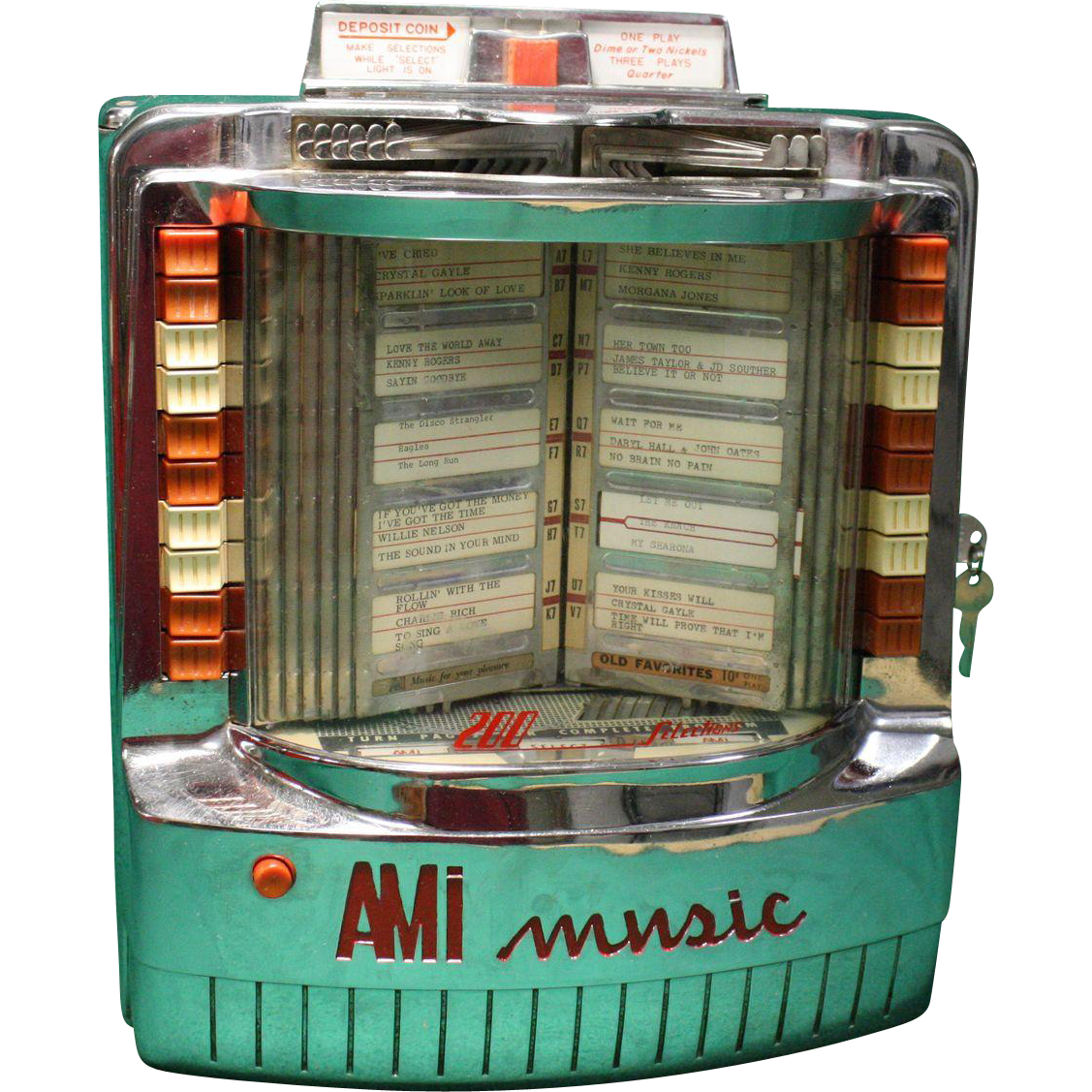 AMI WQ 200 Jukebox Wall Box 1960 SOLD On Ruby Lane
