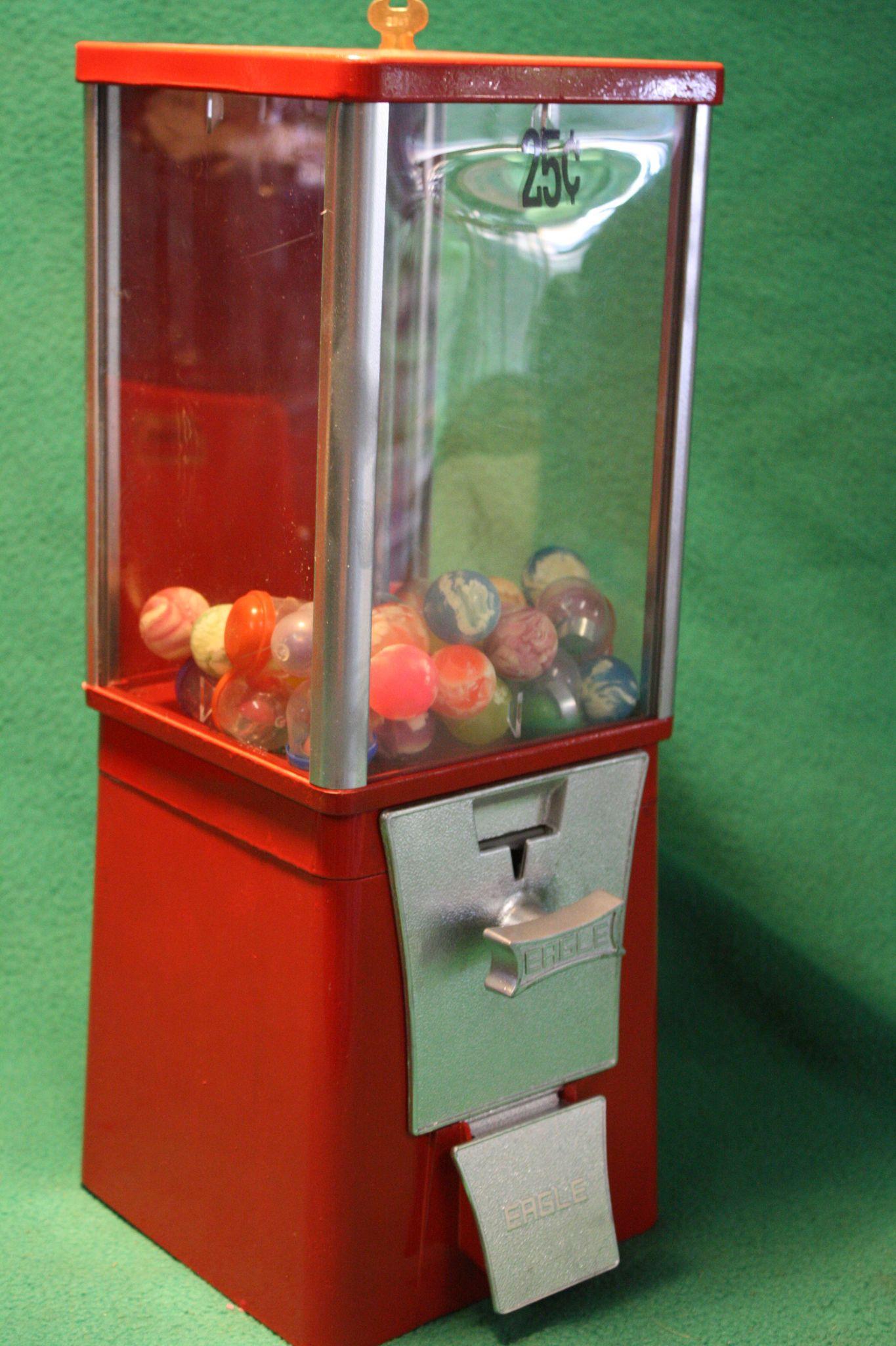 eagle gumball machine