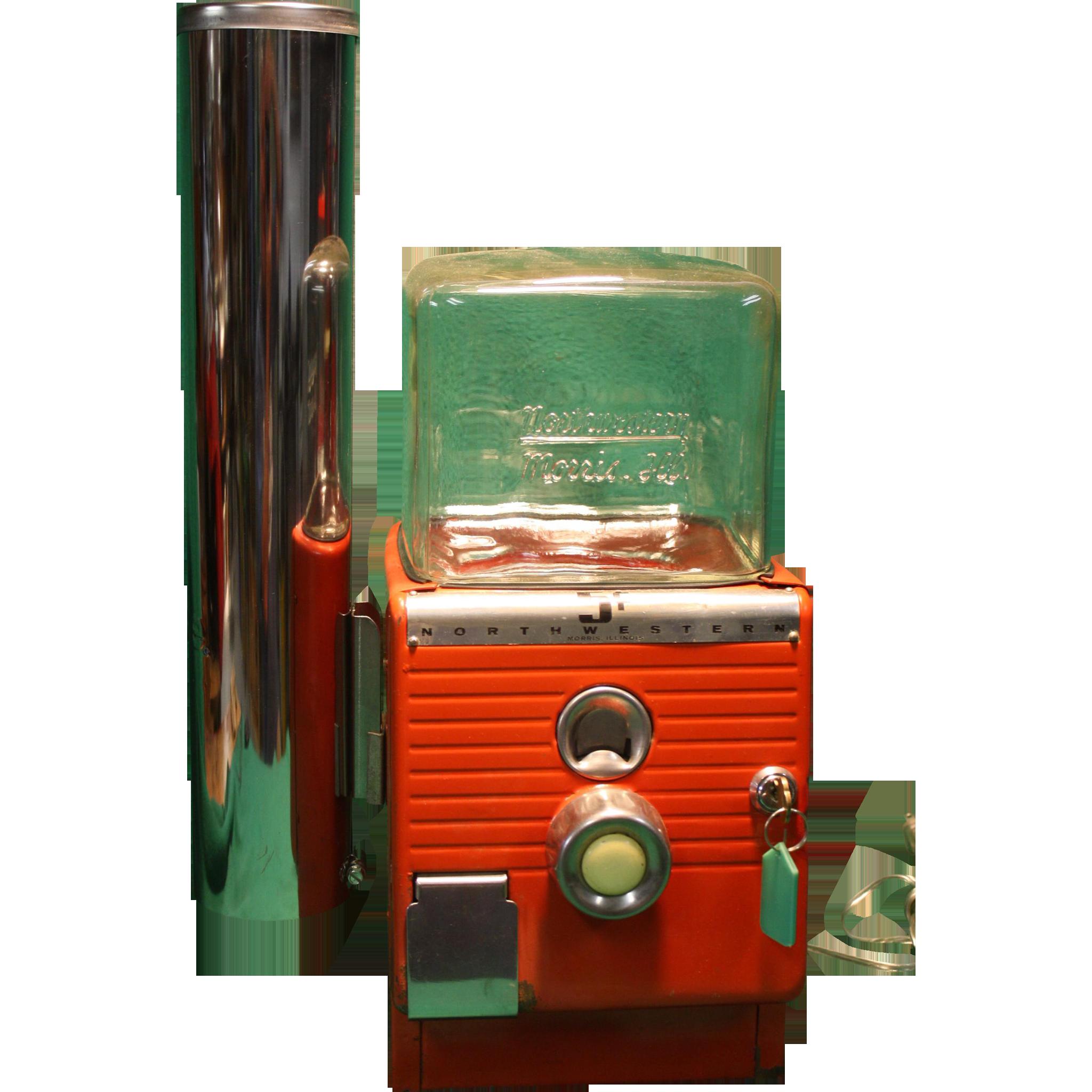 Northwestern Hot Nut Dispenser Original Condition 1940's