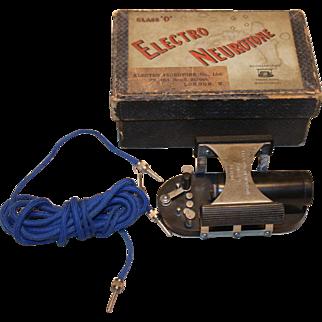 """Hodgkinson's Electro Neurotone Class """"O""""   Apparatus 1920"""
