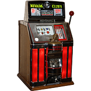 Jennings Sun Chief Lighted Mechanical Slot Machine 25¢