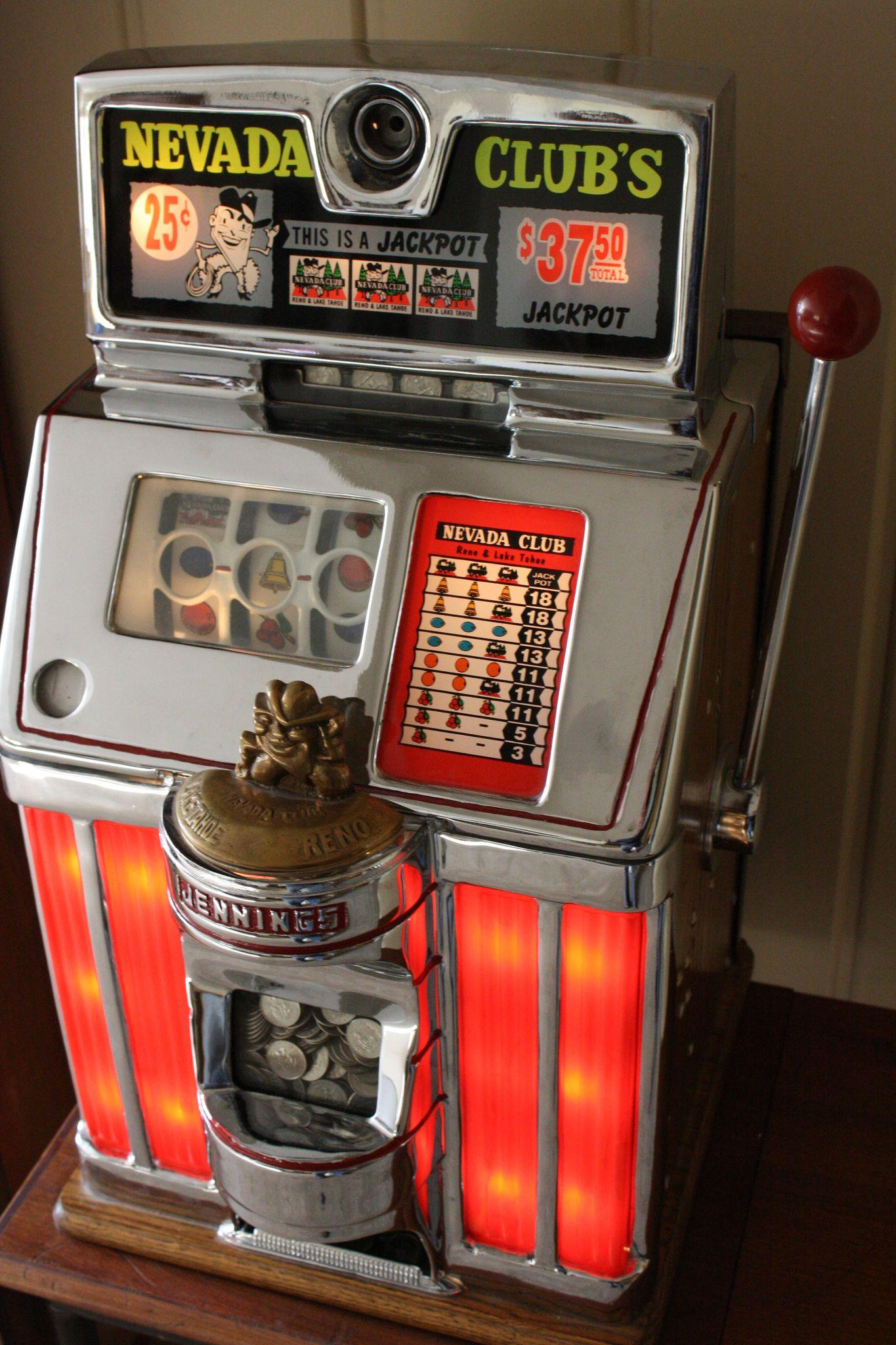 mechanical slot machine