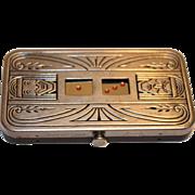 Demley Auto Dice a 1930's Pocket Dice Game Art-Deco
