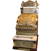 Vintage NCR Model 313  Commemorative Edition  Barber Shop / Candy Store Cash Register