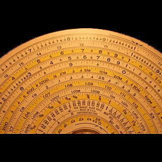Dietzen Binary Slide Rule  1931