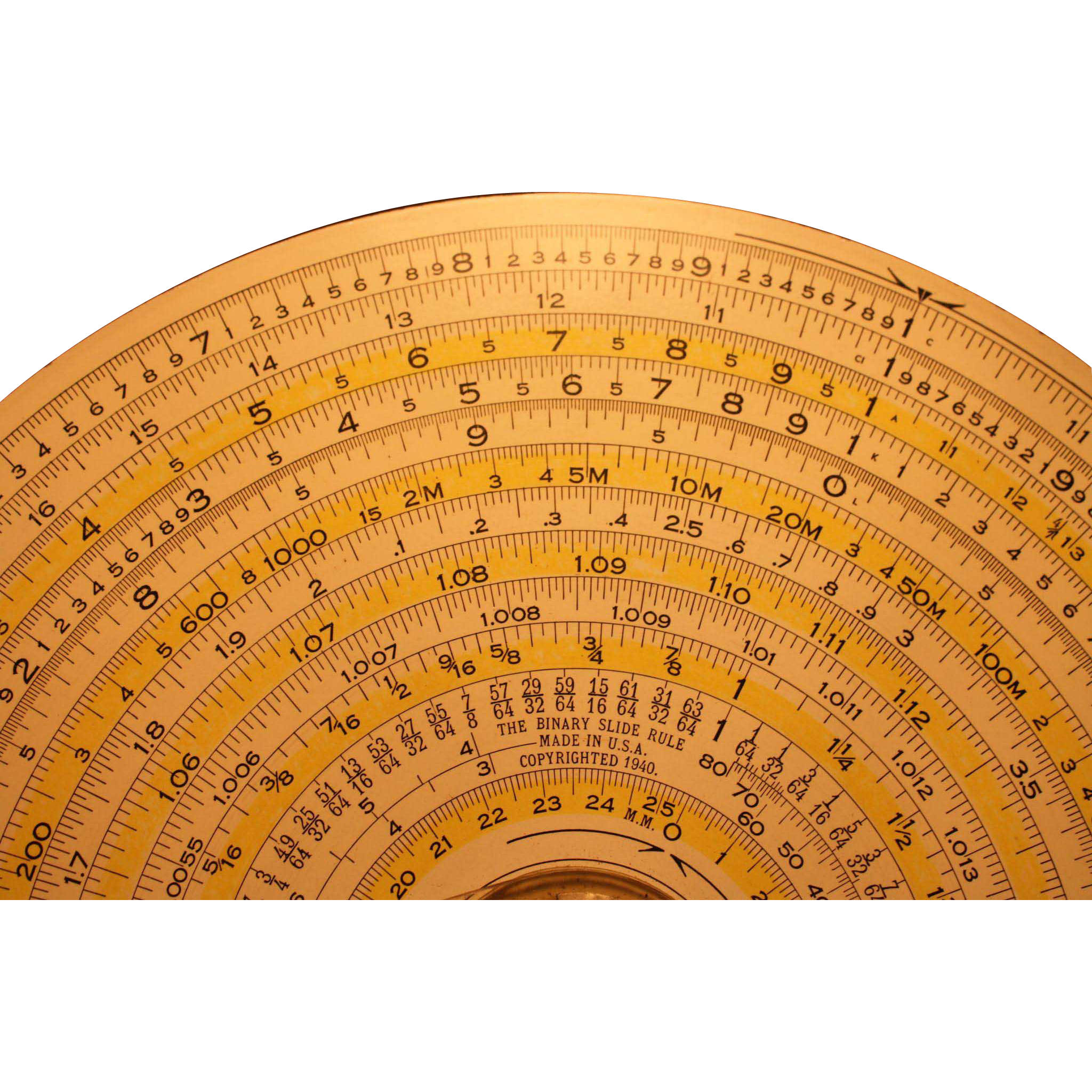 Dietzen Binary Slide Rule  1931