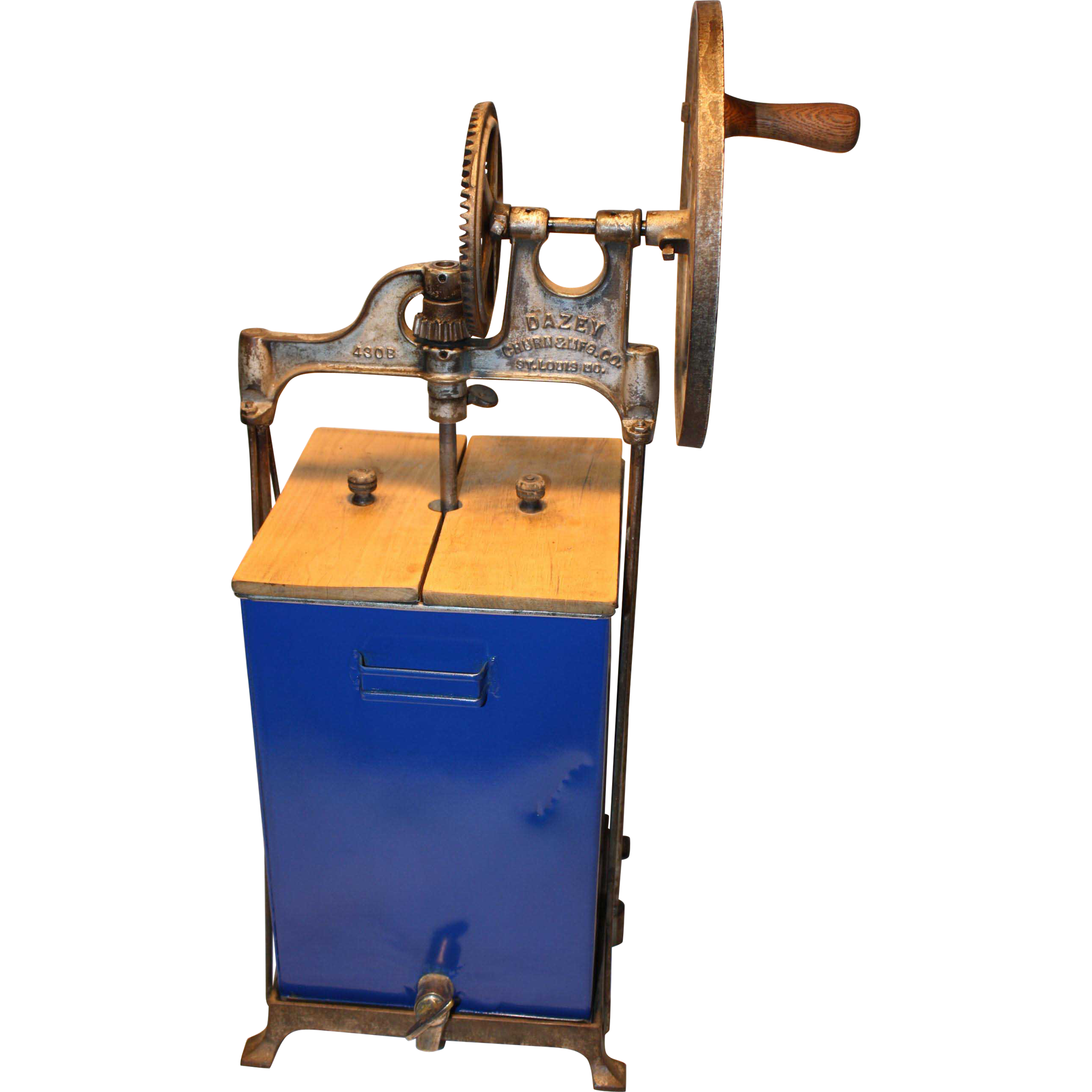 Dazey Butter Churn 4 gal. Model 430B 1917 pat.
