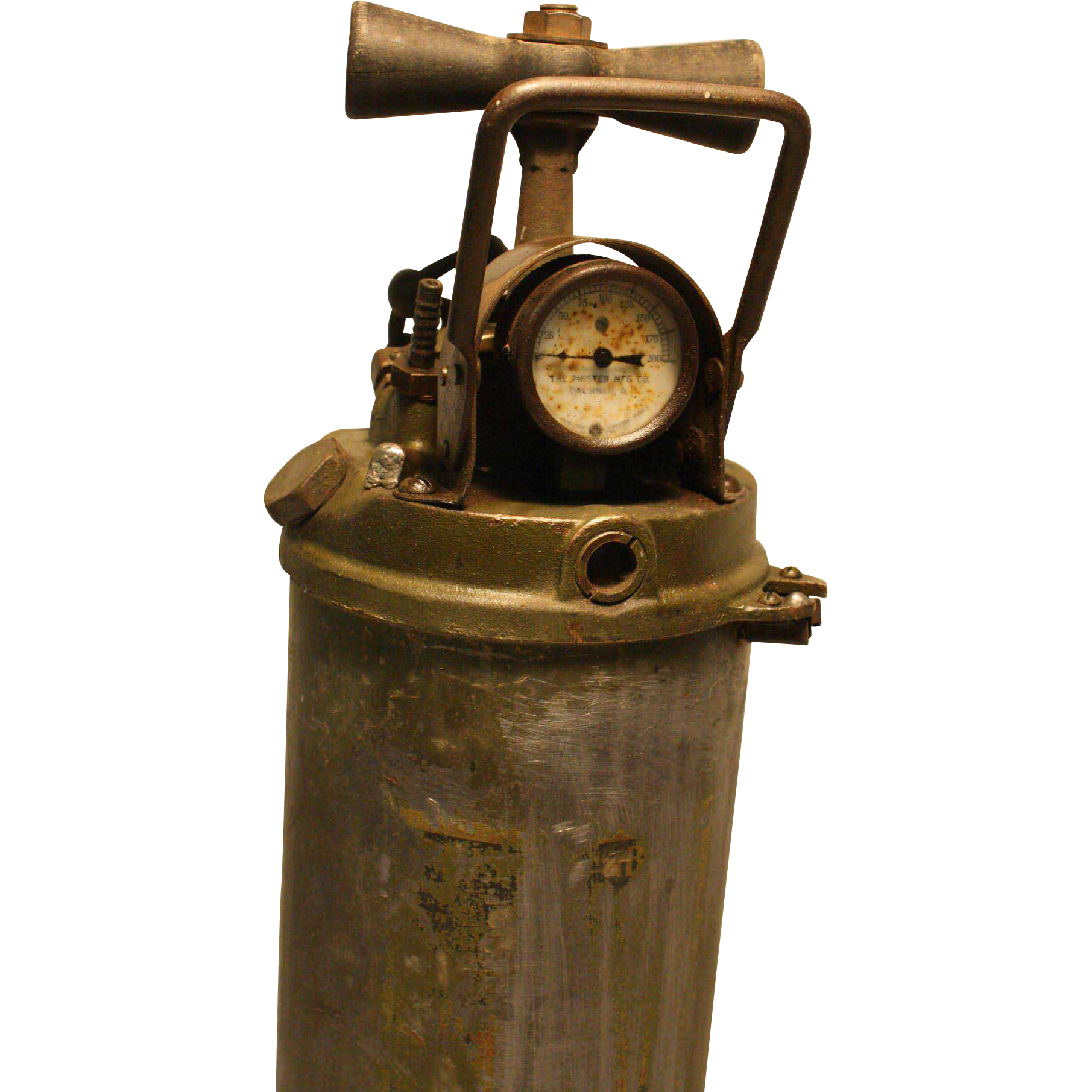 Vintage Unusual Phister Pump Style Fire Extinguisher