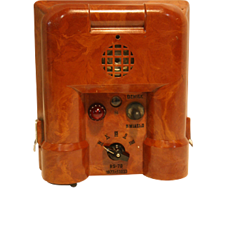 Radiation Detector Polish Army Bakelite