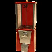 "Eagle Capsule or Candy Vending Machine 25 Cent  1 1/2"" dia."