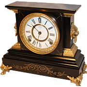 "Ansonia 8-day Mantel Clock  ""La Duchesse""  1886"