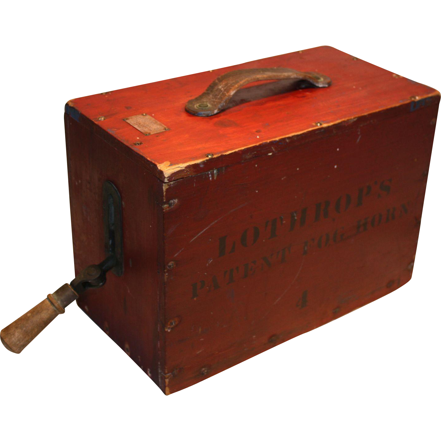 Lothrop's Patent Fog Horn  #4  1901