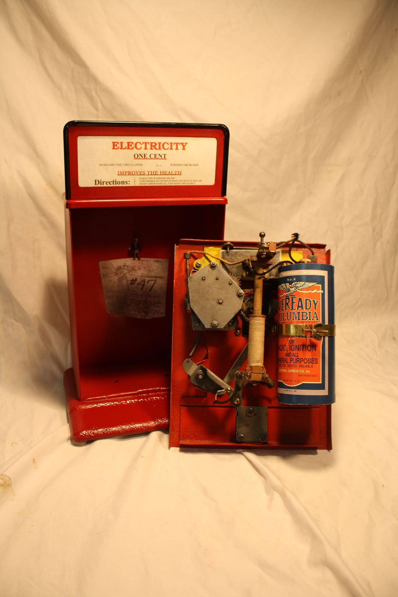 Acme El Ectric Shock Machine Penny Arcade Electric Shocker