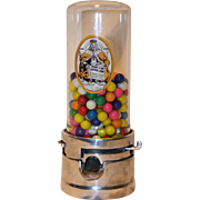 1930's  1Cent Penny King Countertop Gumball Machine