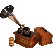 "Columbia Graphophone Model BK  ""Jewel"" 1906  Excellent"