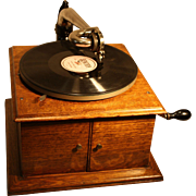 Antique Victor Model VV-IV Phonograph 78 RPM 1914