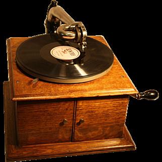 Antique Victor Model VV-IV Phonograph 78 RPM 1914