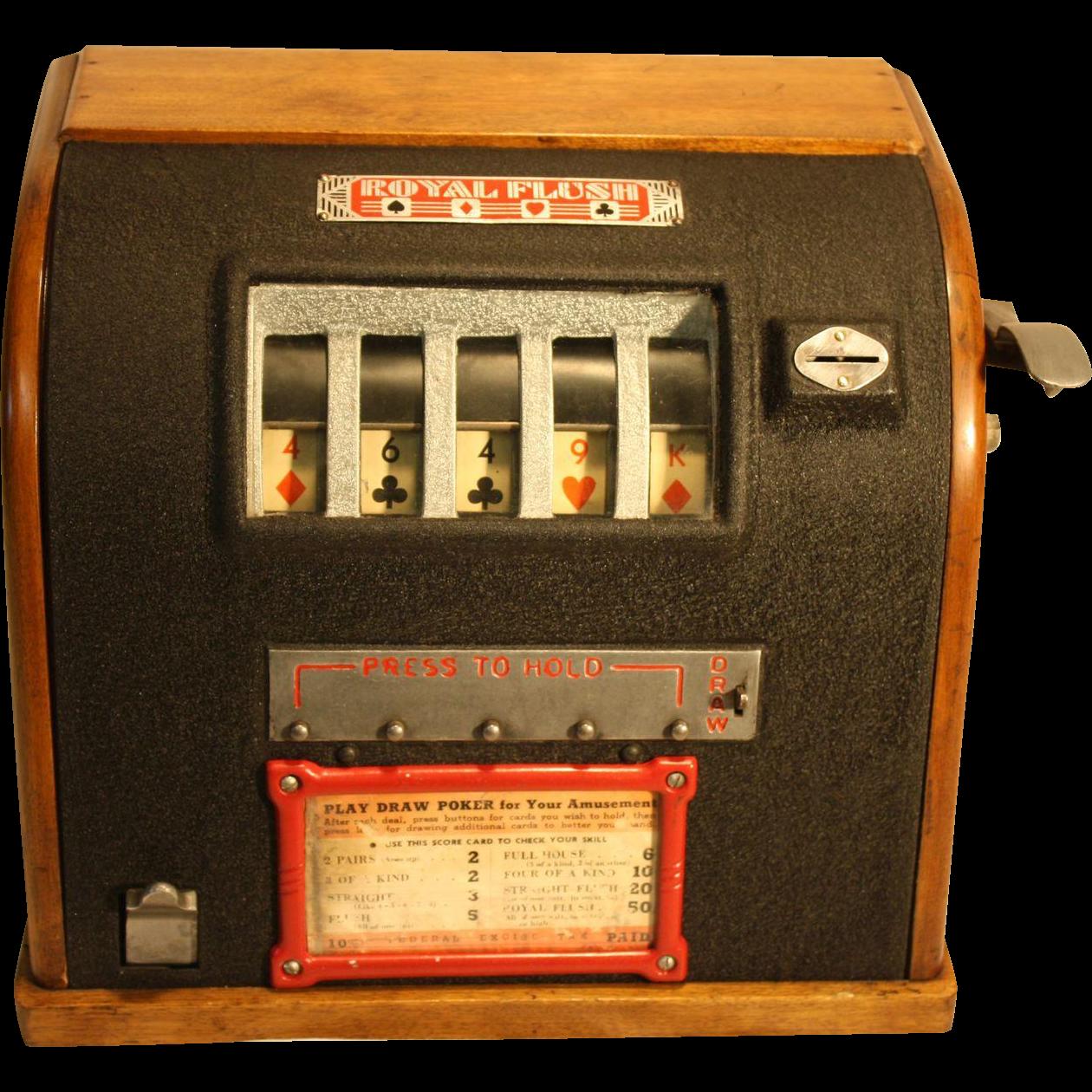 Groetchen Royal Flush Draw Poker Trade Stimulator
