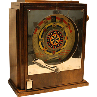 Keeney Match The Pack Cigar Store Counter Game 1933