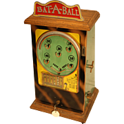 Peo Bat-A-Ball Counter-top Flip Ball Trade Stimulator 1930's