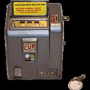 Daval Cub Three Reel Trade Stimulator 1940  1¢