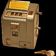 Daval Cub Three Reel Trade Stimulator 1940  5¢